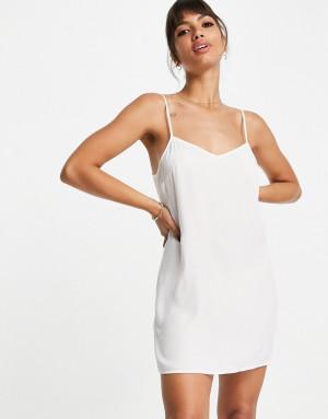 Белое кружевное платье мини French Connection Cabrera-Белый